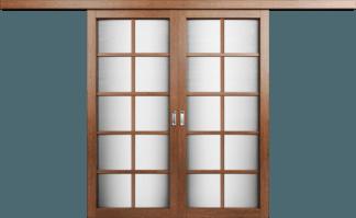Модель Перегородка со стеклом. Тип 2
